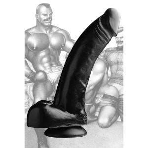 Are you ready to sacrifice your ass to this Black Magic cock? Suction down the base to a smooth hard surface and let out your inner beast This beautiful dong was hand sculpted exclusively from the original artwork of Tom of Finland