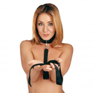 Allow yourself the freedom of relinquishing control with the Frisky Leash and Collar set from Frisky. There you will be