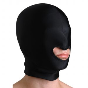 """This hood obscures the wearer"""" s vision"""