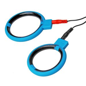 These cock rings pack some serious zing Conductive silicone makes these bi-polar cock rings an exciting addition to any electro toolbox...Simply place the rings over your rod and connect them to your Zeus Powerbox (sold separately). Once the rings are on and hooked up