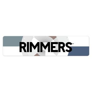 Cap off your Rimmers display with an attractive and functional planogram banner. Printed on heavy cardstock