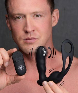 This P-Strap Milker is the Prostate Plug that does it all - designed to enhance erections with its snug cock and ball strap
